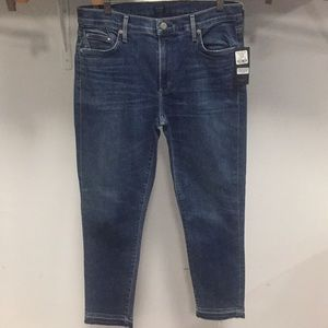 NWT CITIZEN OF HUMANITY rocket crop high skinny 32